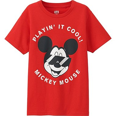 Boys Disney Project T-Shirt, RED, medium