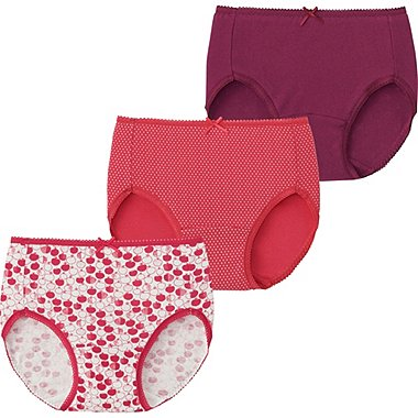 GIRLS Briefs - 3 Pack