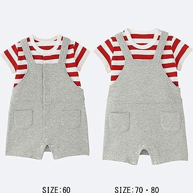 BABY COORDINATED SHORT ALL, RED, medium