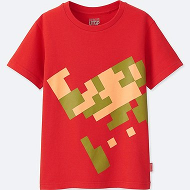 KIDS UTGP (NINTENDO) SHORT-SLEEVE GRAPHIC T-SHIRT, RED, medium