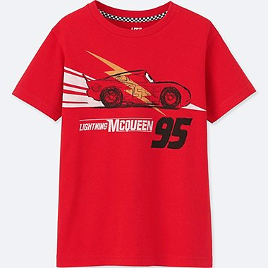 KIDS CARS 3 SHORT-SLEEVE GRAPHIC T-SHIRT, RED, medium