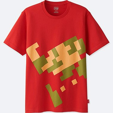 MEN UTGP (NINTENDO) SHORT-SLEEVE GRAPHIC T-SHIRT, RED, medium