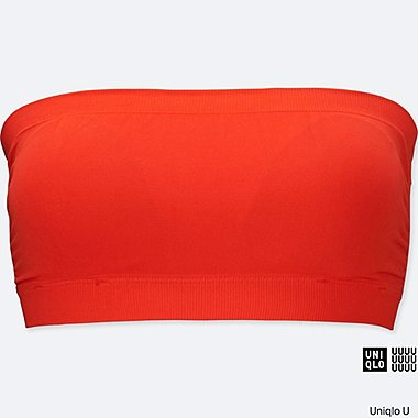 WOMEN Uniqlo U Seamless Swim Bandeau Bra