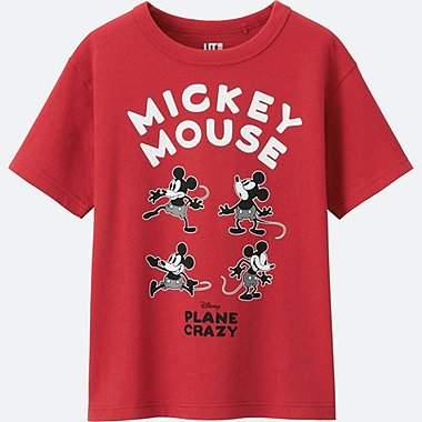 BOYS DISNEY COLLECTION SHORT SLEEVE GRAPHIC T-Shirt, RED, medium