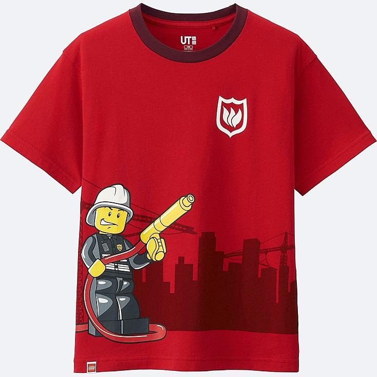 KIDS LEGO®City Short Sleeve Graphic T-Shirt
