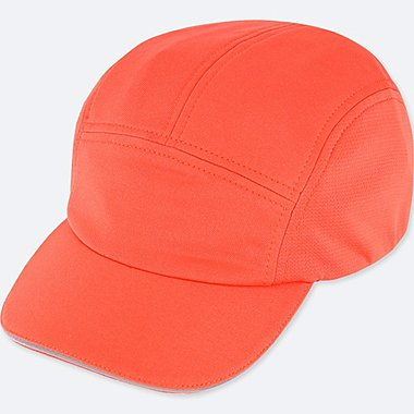 RUNNING CAP, RED, medium