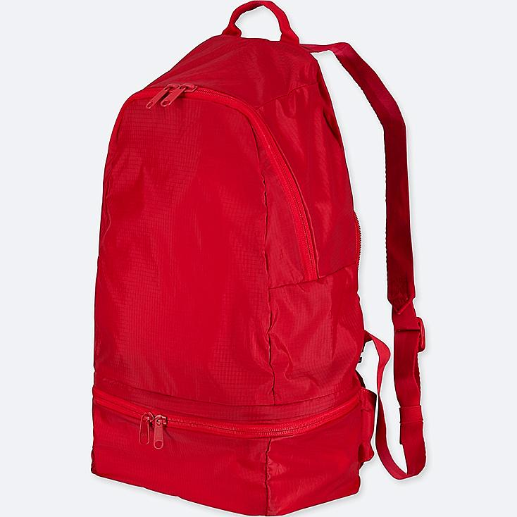 POCKETABLE BACKPACK, RED, large