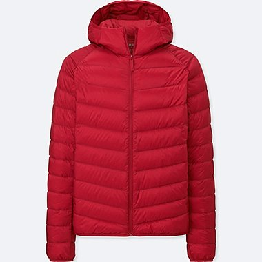 MEN ULTRA LIGHT DOWN PARKA, RED, medium