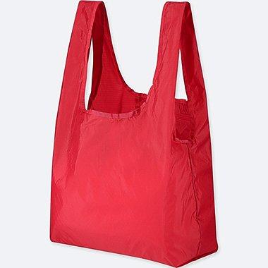 PACKABLE TOTE BAG, RED, medium