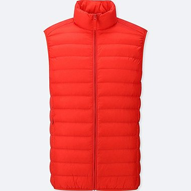 MEN ULTRA LIGHT DOWN VEST, RED, medium