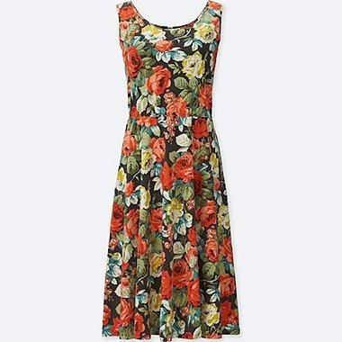 WOMEN STUDIO SANDERSON FOR UNIQLO BRA DRESS, RED, medium