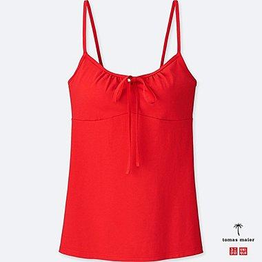 WOMEN BRA CAMISOLE, RED, medium