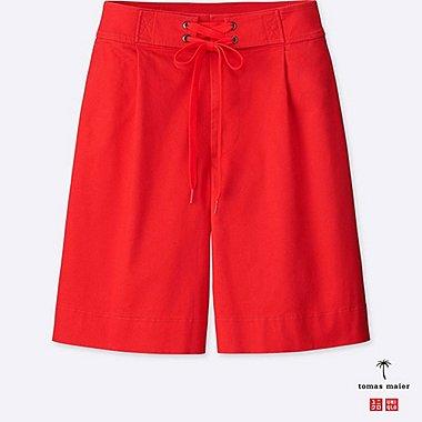 Damen Tomas Maier weite Chino-shorts