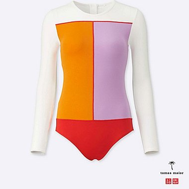 WOMEN Tomas Maier LONG SLEEVE RASH GUARD