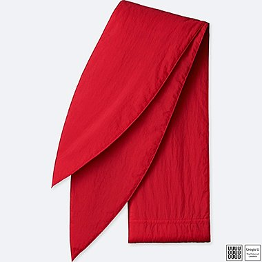 U SMALL PADDED SCARF, RED, medium