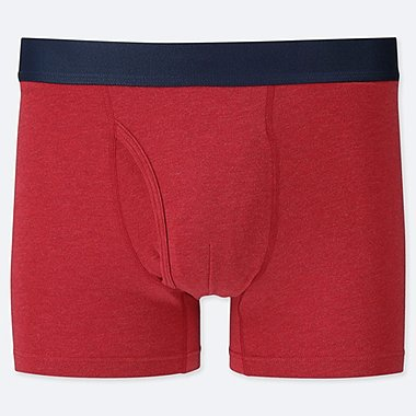 MEN SUPIMA COTTON BOXER SHORTS