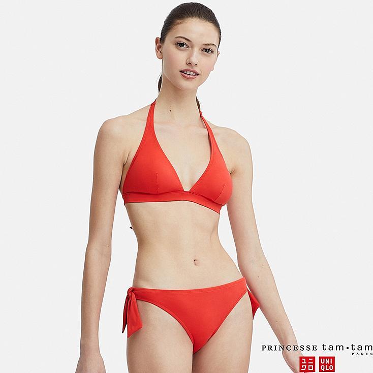 WOMEN PRINCESSE TAM.TAM SWIM HALTER NECK BRA, RED, large