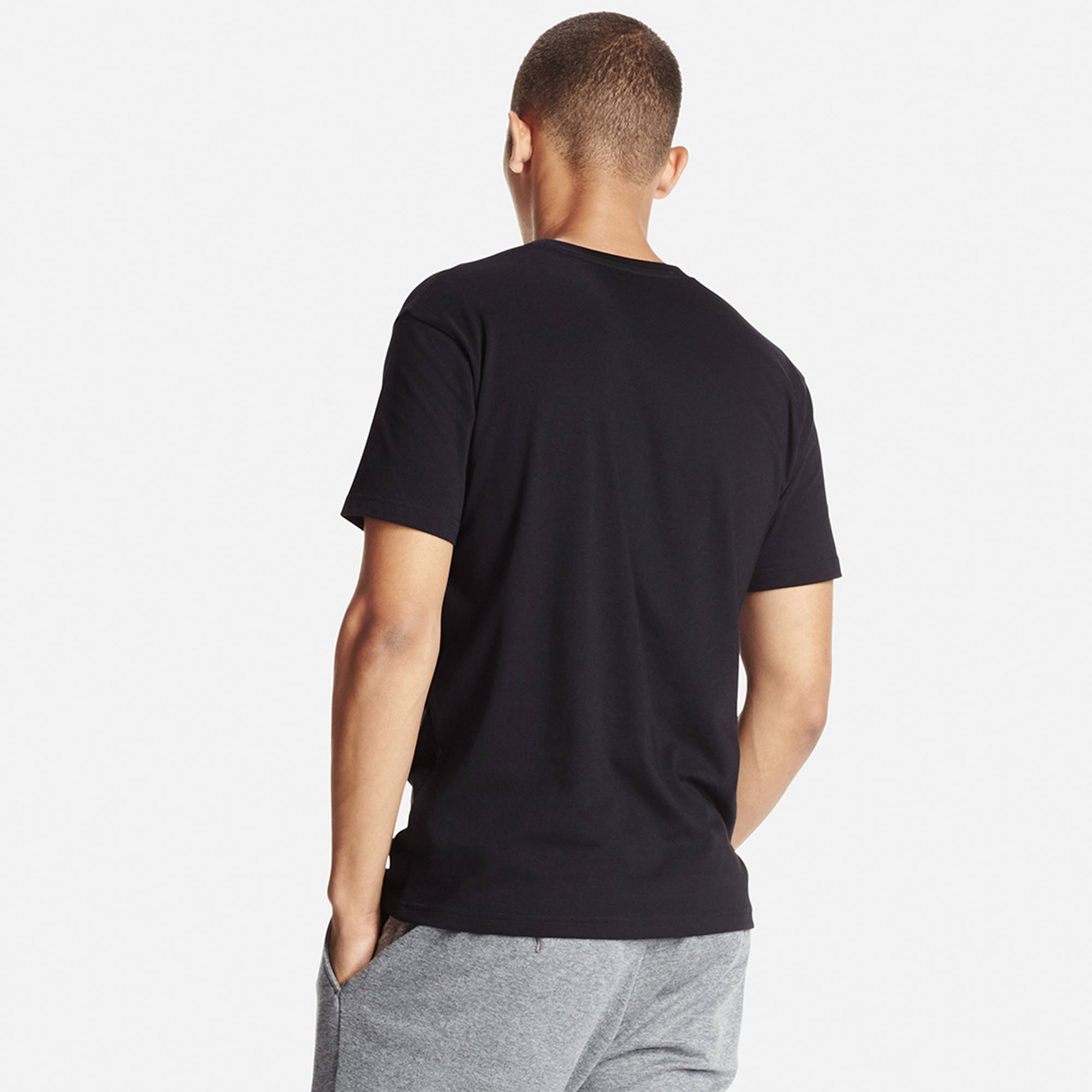 Men DRY Crew Neck T-Shirt   UNIQLO US