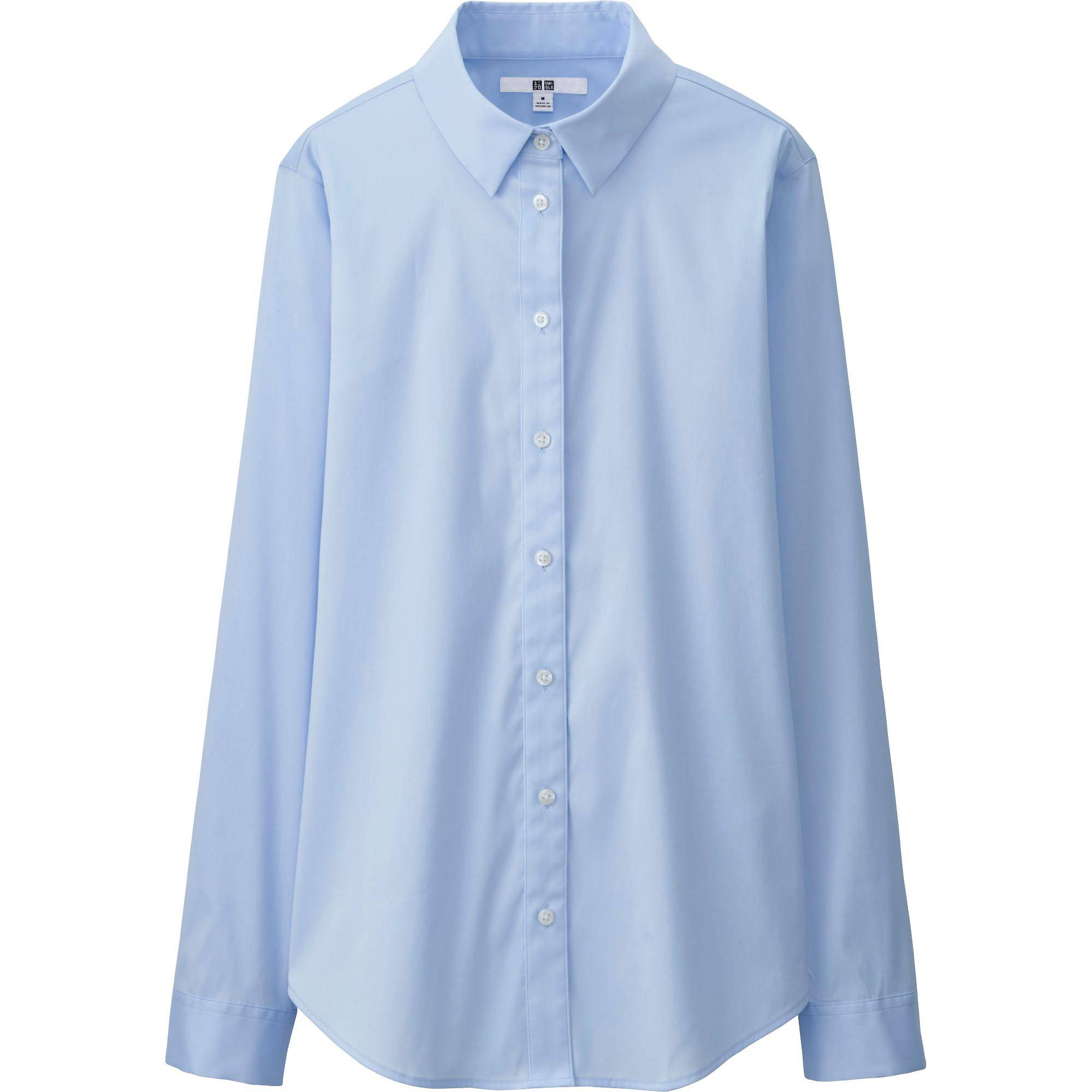 Women Supima® Cotton Stretch Dress Shirt | UNIQLO US