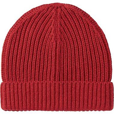 KIDS HEATTECH KNIT CAP, RED, medium