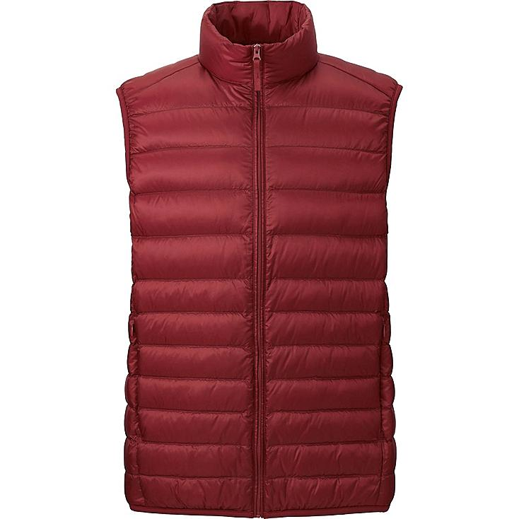 MEN ULTRA LIGHT DOWN VEST, RED, large