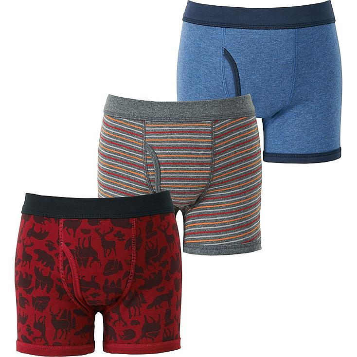 BOYS BOXER BRIEF 3P, RED, large