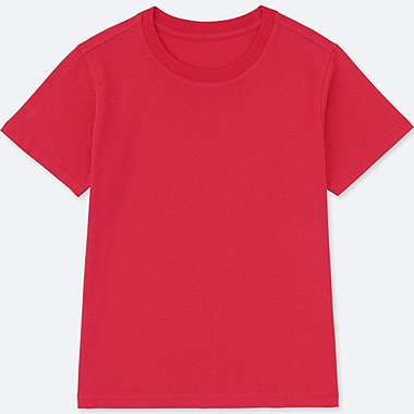 KIDS PACKAGED COLOUR CREW NECK SHORT SLEEVE T-SHIRT