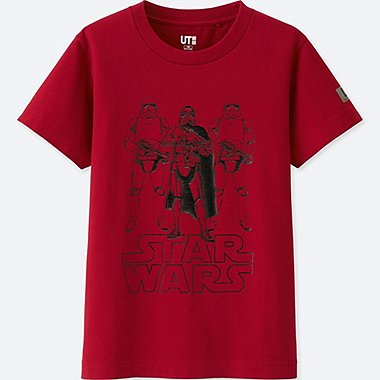 BOYS STAR WARS: THE LAST JEDI SHORT-SLEEVE GRAPHIC T-SHIRT, RED, medium
