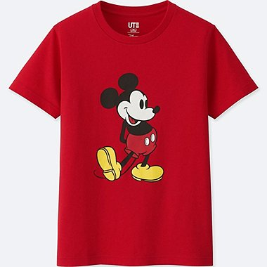 KIDS MICKEY STANDS SHORT-SLEEVE GRAPHIC T-SHIRT, RED, medium