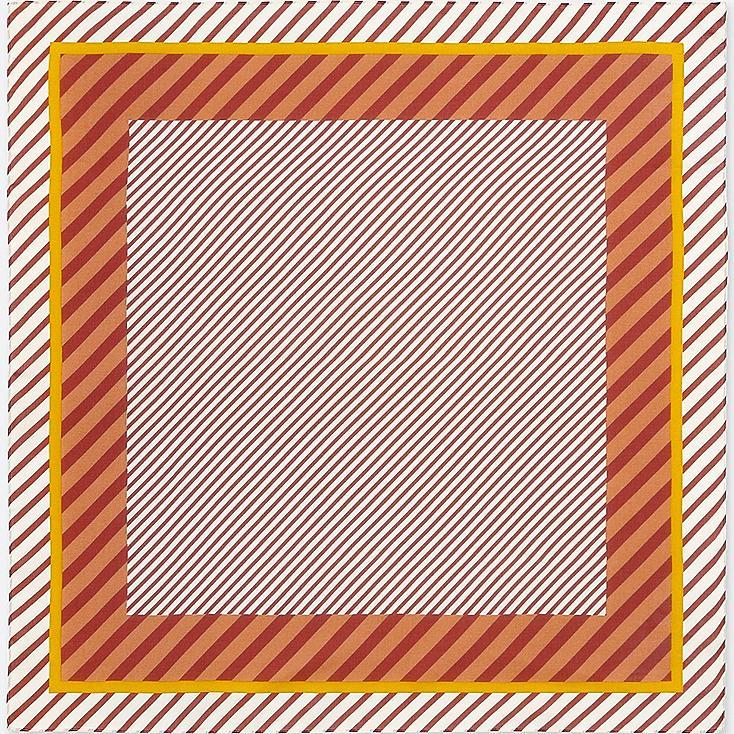 Bufanda con brillo (rallas) MUJER