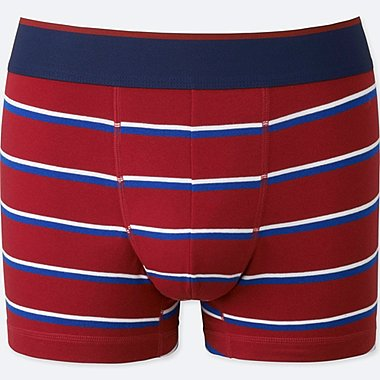 MEN SUPIMA COTTON LOW-RISE BOXER BRIEFS, RED, medium