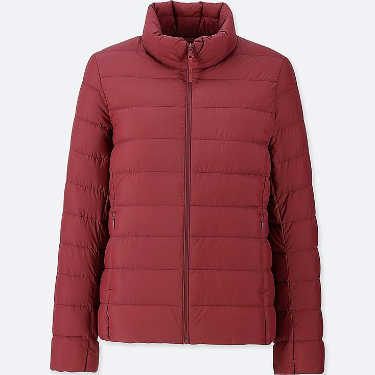 WOMEN ULTRA LIGHT DOWN JACKET, RED, large