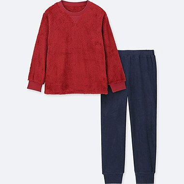 BOYS FLEECE LONG SLEEVE LOUNGE SET