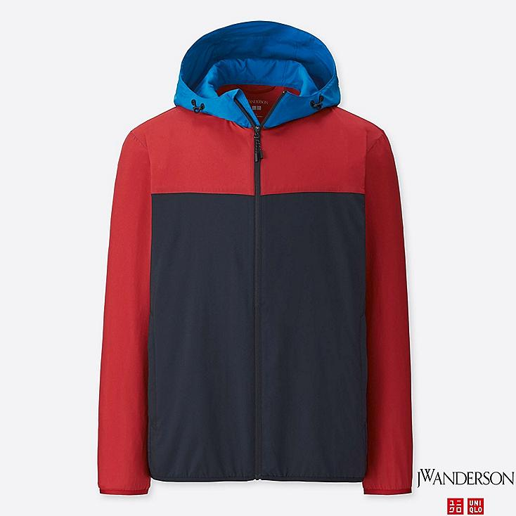 JWA POCKETABLE PARKA, RED, large