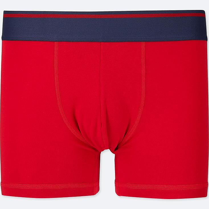 MEN SUPIMA® COTTON LOW-RISE BOXER BRIEFS, RED, large