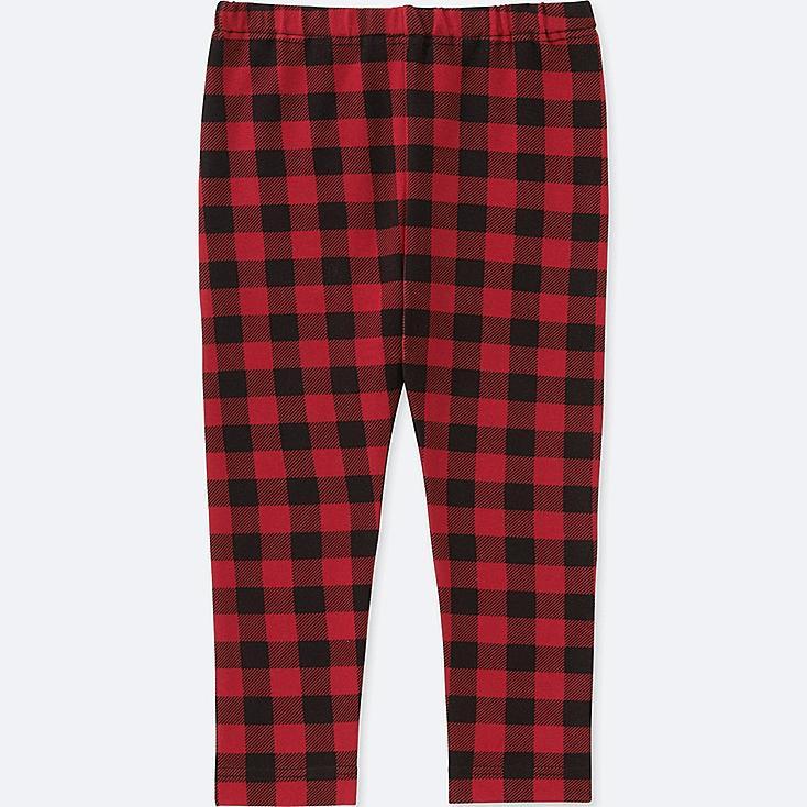 TODDLER LEGGINGS, RED, large