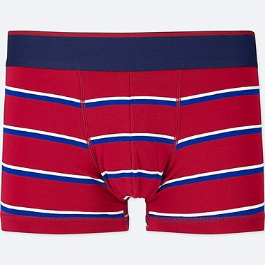 MEN SUPIMA® COTTON LOW-RISE BOXER BRIEFS, RED, medium