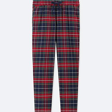 MEN Flannel Easy Pants