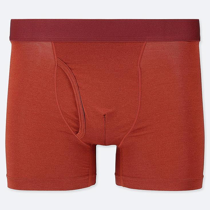 MEN AIRism BOXER BRIEFS, RED, large