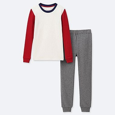 BOYS ULTRA STRETCH SWEAT SET, RED, medium
