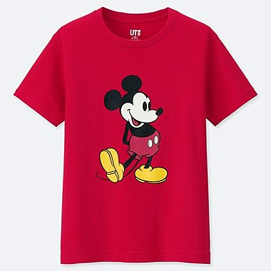 KINDER T-SHIRT MICKEY STANDS
