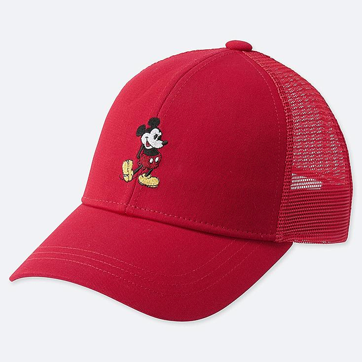 KIDS MICKEY STANDS MESH CAP, RED, large