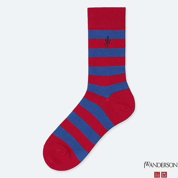 SOCKS (JW Anderson), RED, large