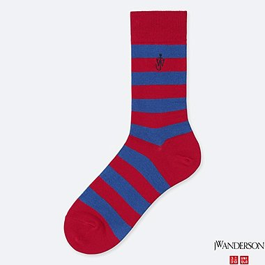 SOCKS (JW Anderson), RED, medium