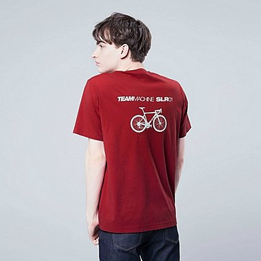 MEN THE BRANDS BMC BICYCLE GRAPHIC PRINT T-SHIRT