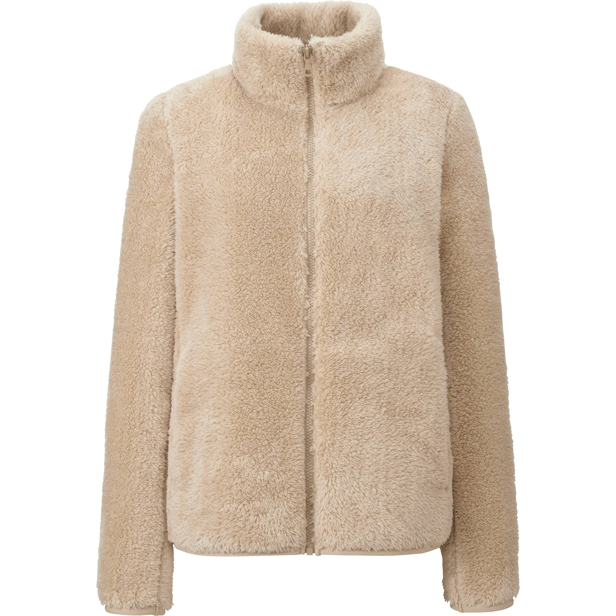 WOMEN FLUFFY YARN FLEECE FULL ZIP JACKET | UNIQLO US