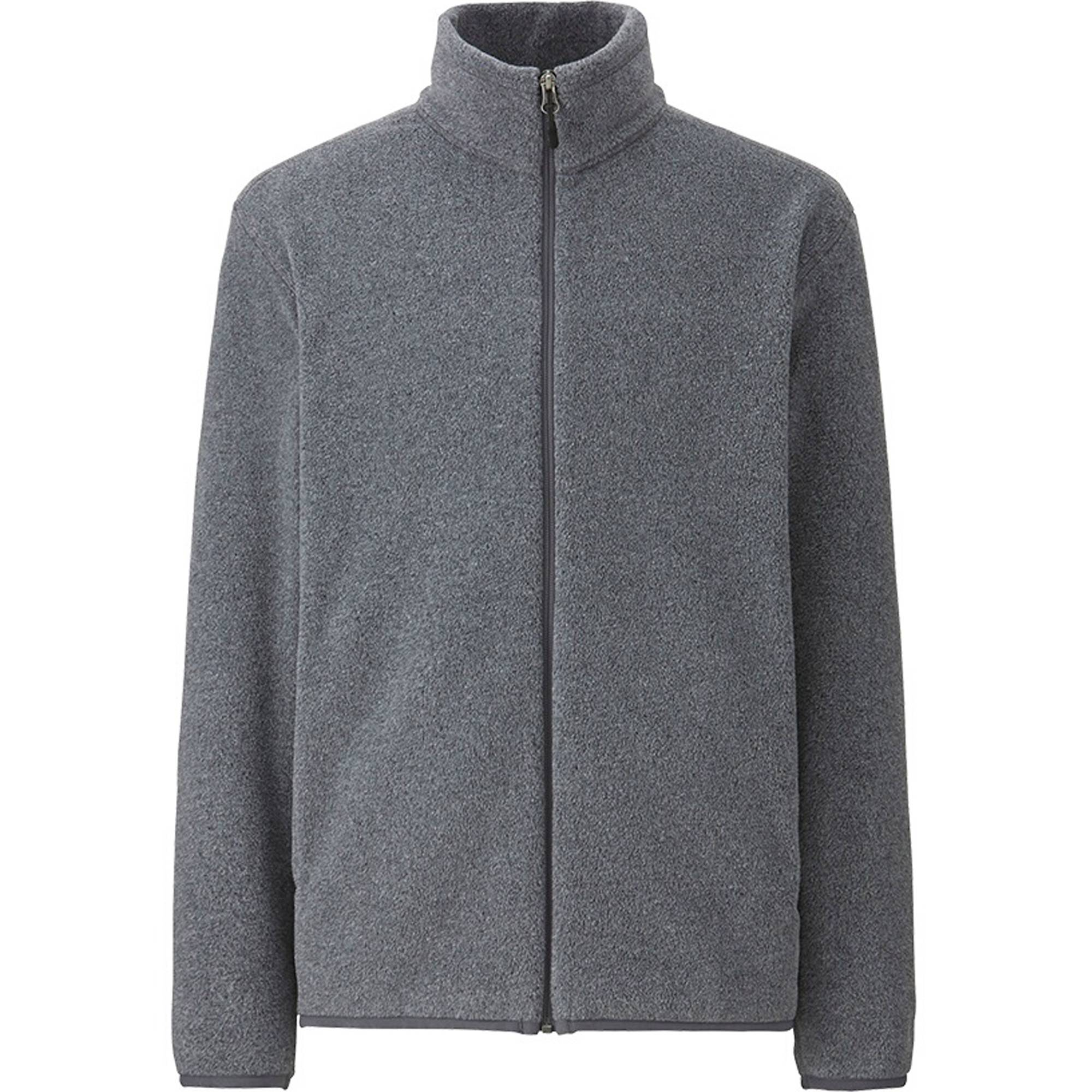 MEN FLEECE LONG SLEEVE FULL-ZIP JACKET | UNIQLO US