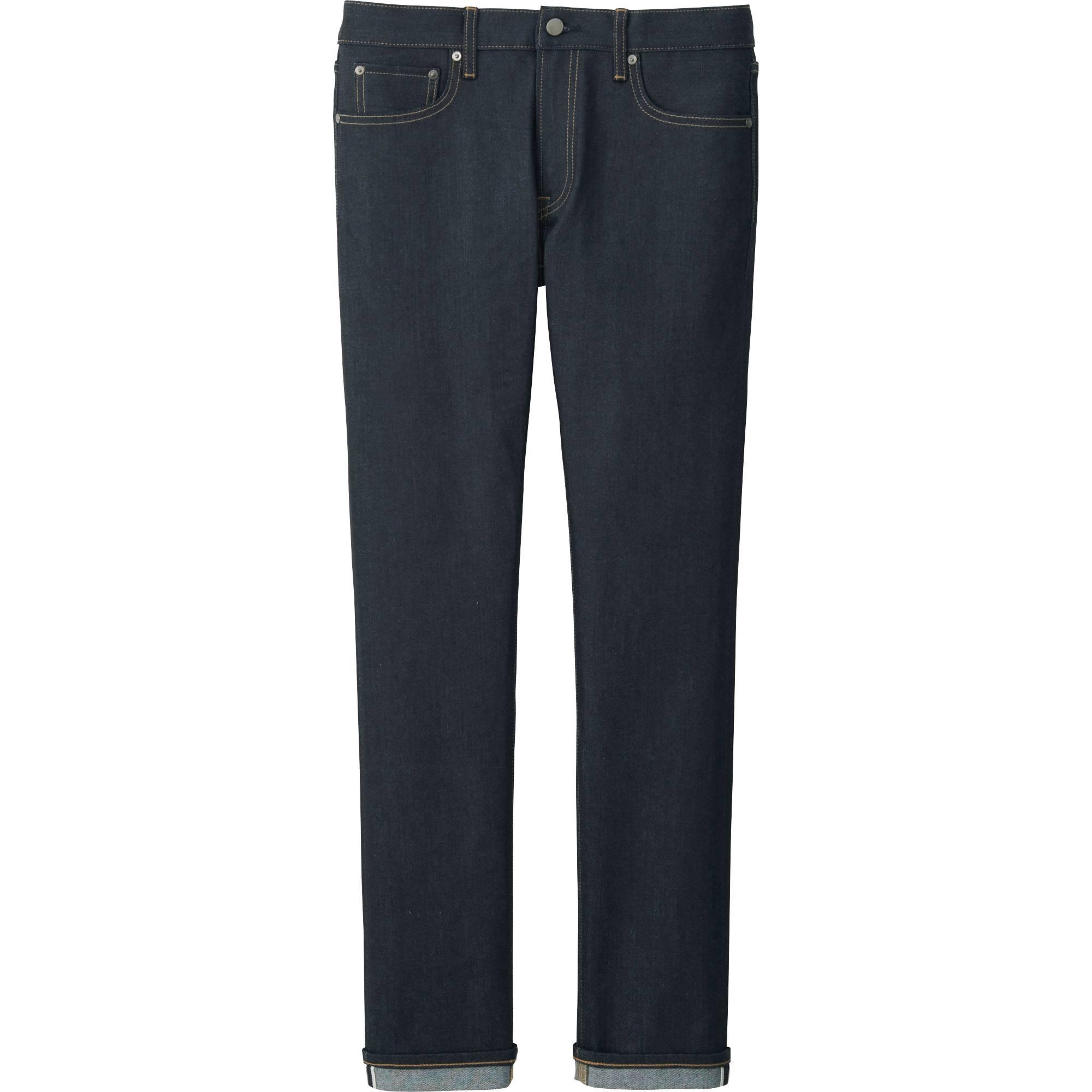 Men&39s Stretch Selvedge Slim-Fit Jeans | UNIQLO US