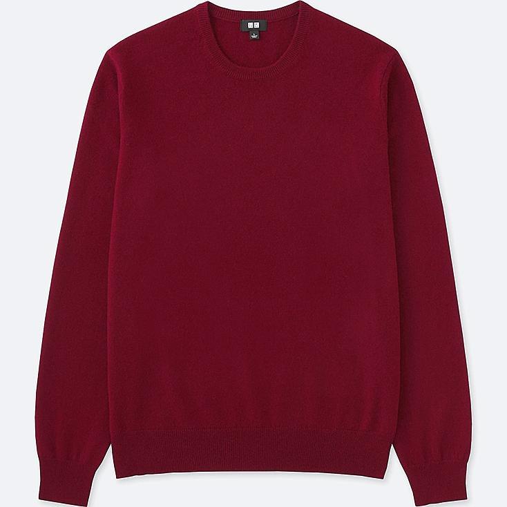 Men Cashmere Crew Neck Sweater | UNIQLO US