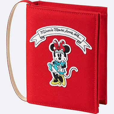 WOMEN Disney (MINNIE MOUSE LOVES DOTS) SHOULDER BAG, RED, medium